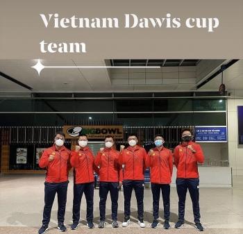 PV GAS đồng hành cùng Đội tuyển quần vợt nam Việt Nam tham dự Davis Cup năm 2021