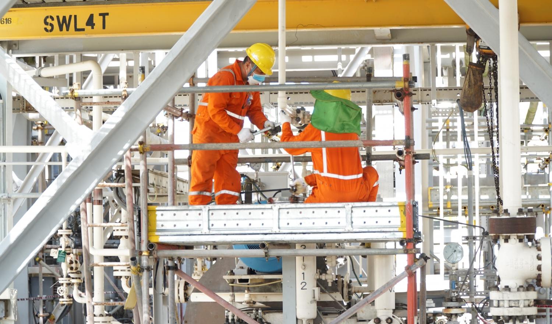 Người Lao động PV GAS nỗ lực hoàn thành nhiệm vụ trong điều kiện phòng chống đại dịch