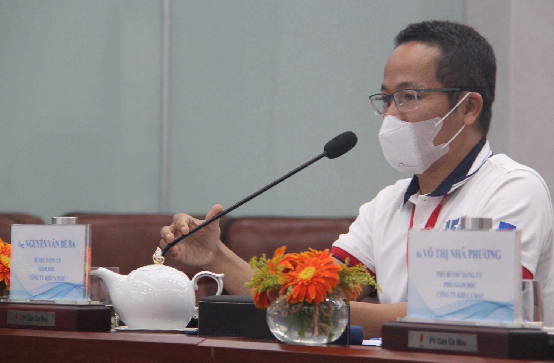 đồng chí Nguyễn Văn Bé Ba – Bí thư Đảng ủy, Giám đốc KCM