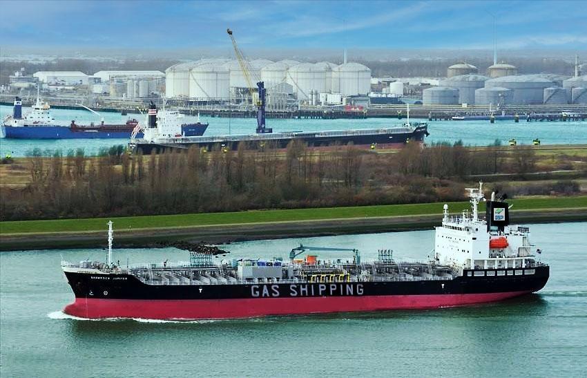 việc tiếp nhận tàu Shamrock Jupiter, lần đầu tiên kể từ khi thành lập tổng tài sản Gas Shipping đã vượt mốc 1.100 tỷ đồng