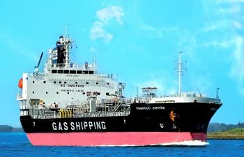 Gas Shipping tiếp nhận tàu hóa chất Shamrock Jupiter