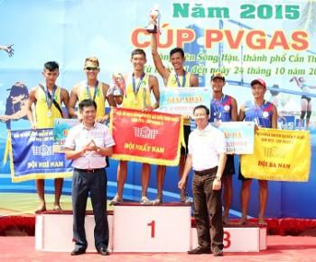 PVGas D tài trợ Giải vô địch bóng chuyền bãi biển toàn quốc