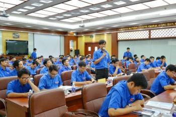 Phát huy vai trò thanh niên trong vận hành công trình khí