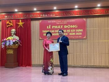 """BIENDONG POC nhận bằng khen của Ban Quản lý Quỹ """"Vì người nghèo"""" tỉnh Hòa Bình"""