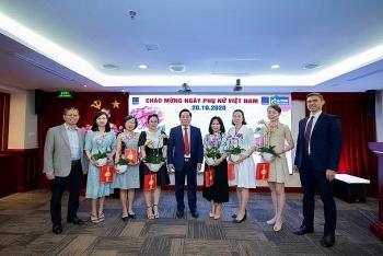 BIENDONG POC tổ chức chương trình chào mừng ngày Phụ nữ Việt Nam 20/10
