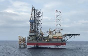 PV Drilling lần đầu tiên cung cấp giàn khoan tự nâng cho chương trình khoan tại Campuchia
