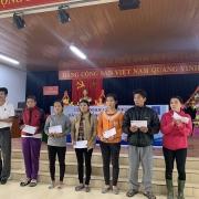 PTSC Quảng Bình ủng hộ đồng bào thiệt hại do lũ lụt
