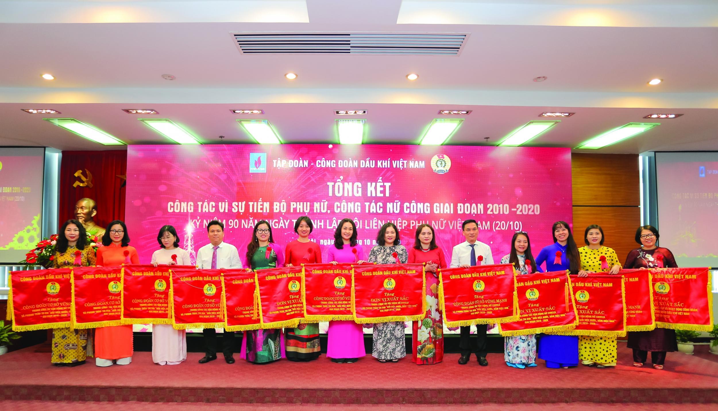 Hoạt động nữ công PV GAS được quan tâm ủng hộ, đã nhận được nhiều khen thưởng hàng năm