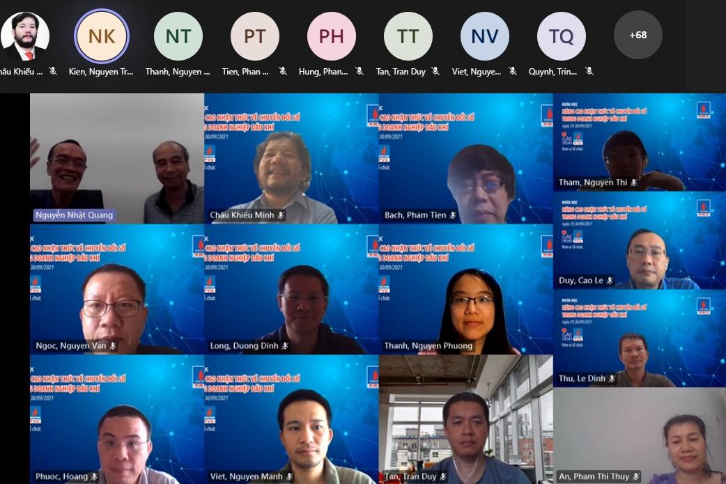 Phú Quốc POC tổ chức chương trình đào tạo nâng cao nhận thức chuyển đổi số