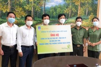 CNG Việt Nam tặng quà cho các đơn vị tuyến đầu chống dịch
