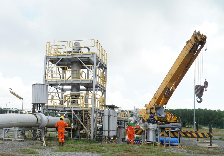 Hoàn thành Bảo dưỡng sửa chữa Hệ thống khí Nam Côn Sơn 1 - năm 2021
