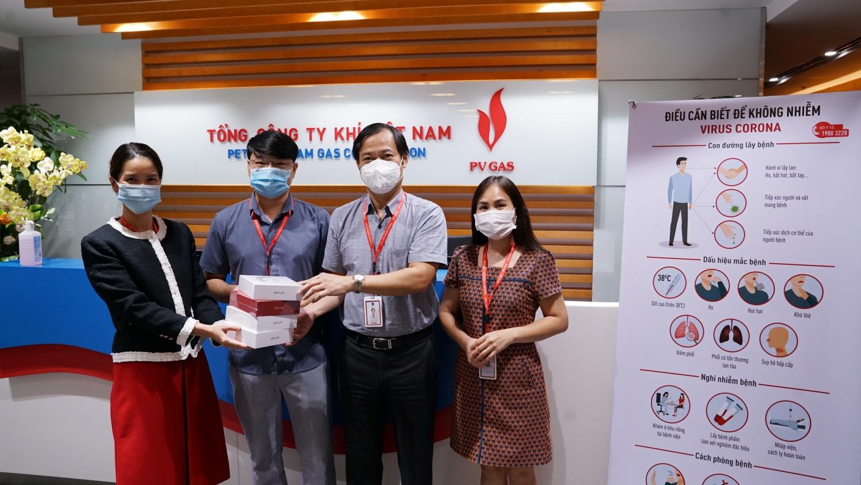 Đồng hành cùng NLĐ, tích cực bảo vệ an ninh - an toàn Hệ thống khí trong mùa dịch bệnh