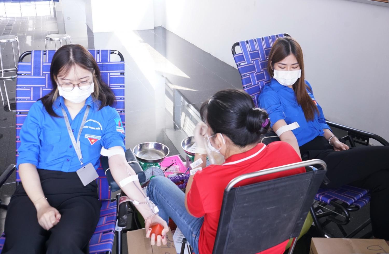 PV GAS thường xuyên tổ chức các chương trình Hiến máu nhân đạo, ủng hộ cộng đồng