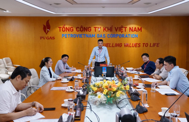 Đồng chí Bí thư Đảng ủy - Chủ tịch HĐQT PV GAS phát biểu khai mạc và chủ trì Hội nghị