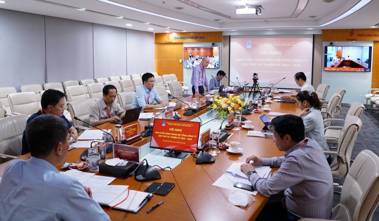 Hội nghị Ban Chấp hành Đảng bộ PV GAS lần thứ VII, nhiệm kỳ 2020 – 2025