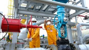 Chùm ảnh: Bảo dưỡng sửa chữa dừng khí GPP Dinh Cố 2021