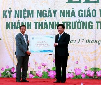 pv gas tham gia tai tro 5 ty xay truong hoc o thai binh