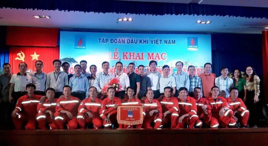 PTSC đạt giải Nhì Hội thi tay nghề Dầu khí lần VI