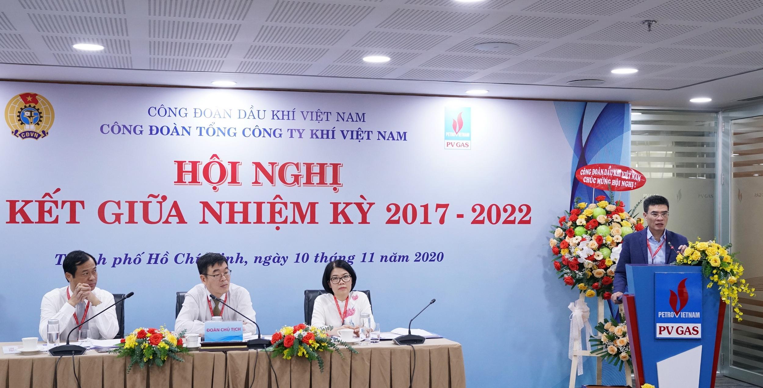 Bí thư Đảng ủy - Tổng Giám đốc PV GAS phát biểu tại Hội nghị