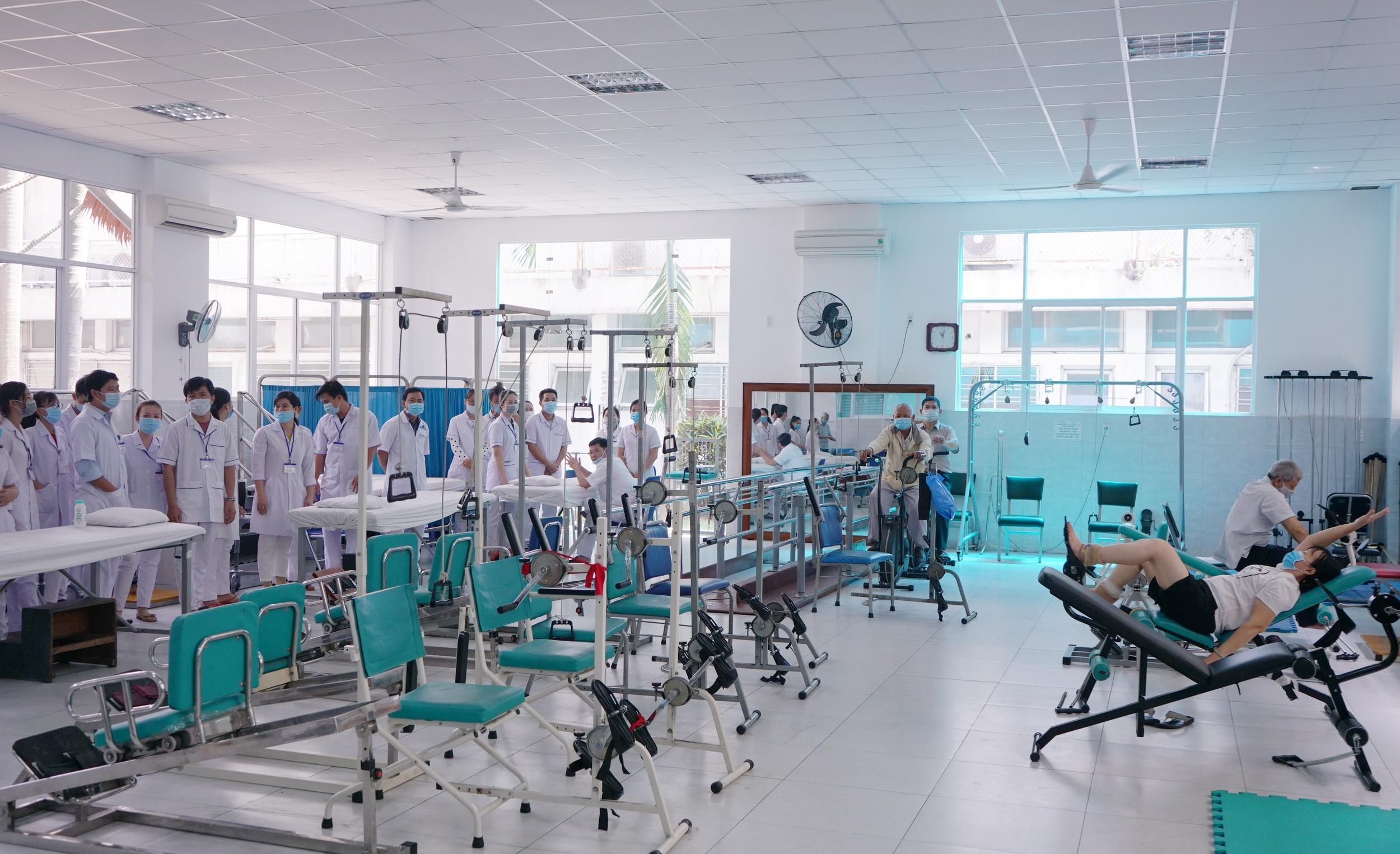Khoa Vật lý trị liệu, phục hồi chức năng của Bệnh viện Thống Nhất