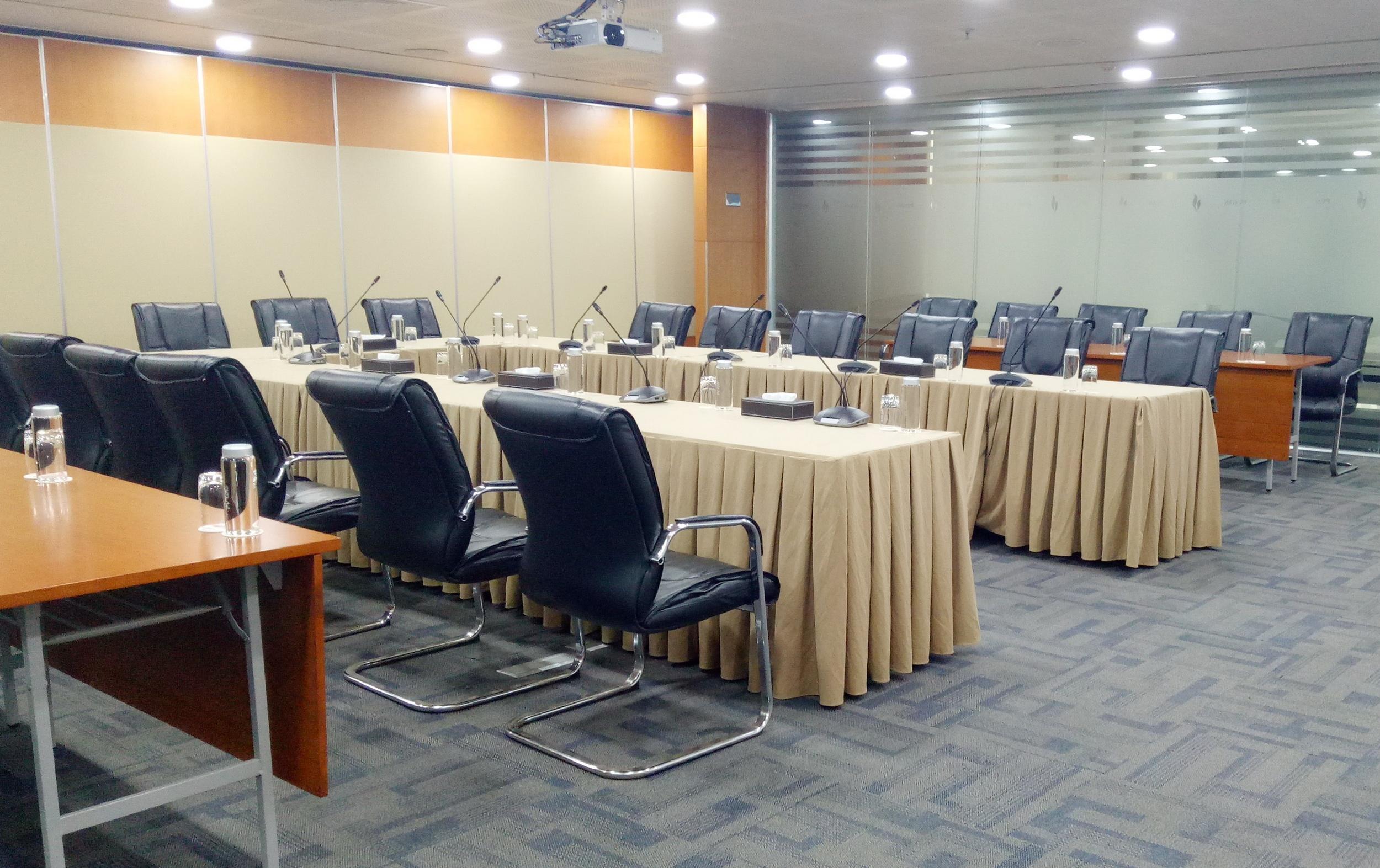 Phòng họp ngăn nắp và hiệu quả