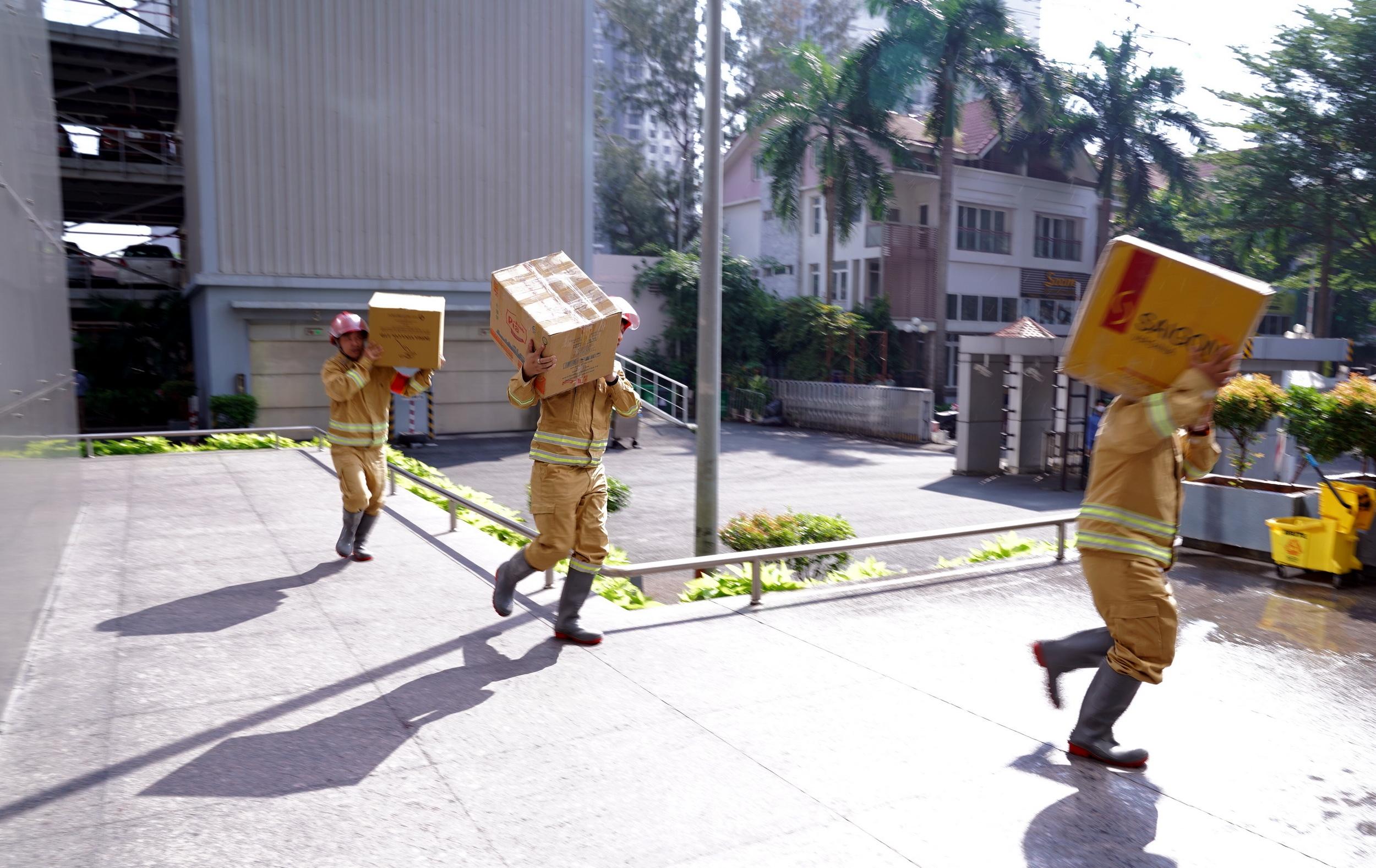 Bảo vệ tài sản của tòa nhà trong đám cháy