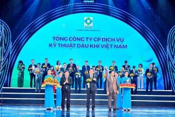 PTSC 7 lần nhận Giải thưởng Thương hiệu quốc gia