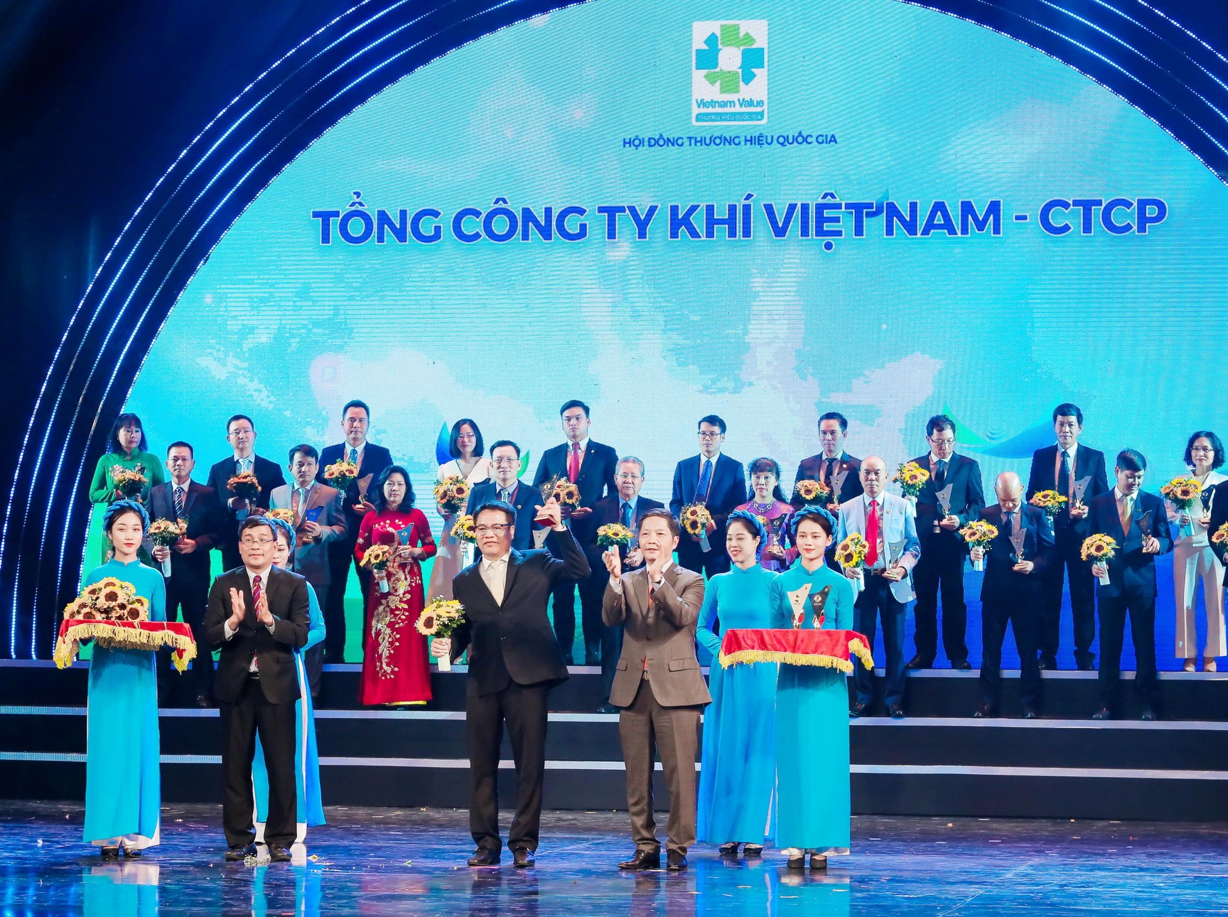 PV GAS nhận vinh danh Thương hiệu Quốc gia 2020