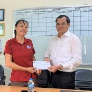 Công đoàn PV Drilling thăm hỏi lao động nữ mắc bệnh hiểm nghèo, có hoàn cảnh khó khăn tại Bà Rịa - Vũng Tàu