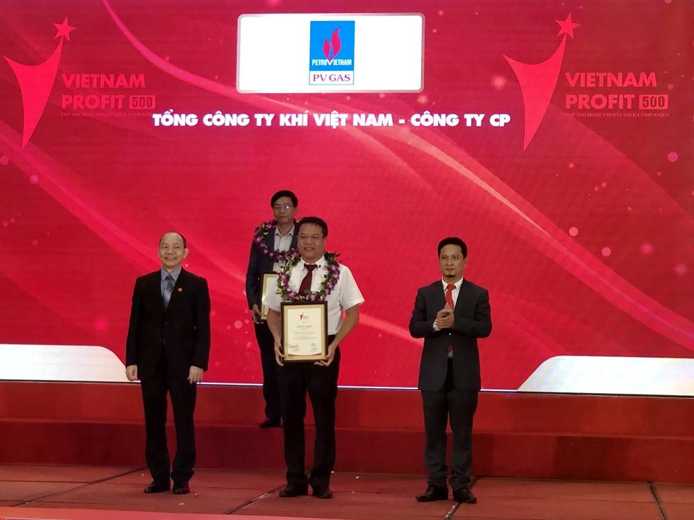 pv gas dung thu 5 top 500 doanh nghiep loi nhuan tot nhat viet nam 2018