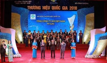 Sản phẩm LPG của PV GAS được vinh danh Thương hiệu Quốc gia 2018
