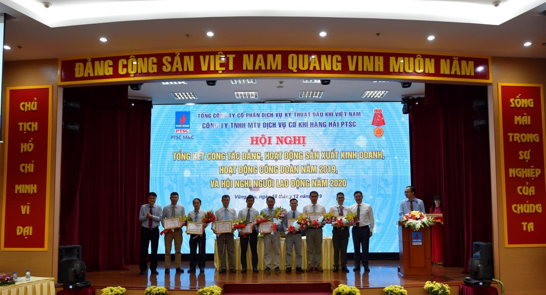 ptsc mc duy tri tot nguon cong viec hoan thanh vuot muc ke hoach nam 2019