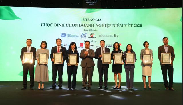 PV Drilling, PVFCCo và PVChem được vinh danh trong Cuộc bình chọn Doanh nghiệp niêm yết 2020