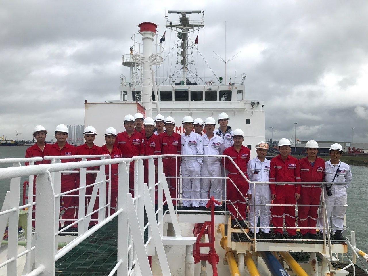 Đội ngũ thuyền viên chuyên nghiệp của PVTrans