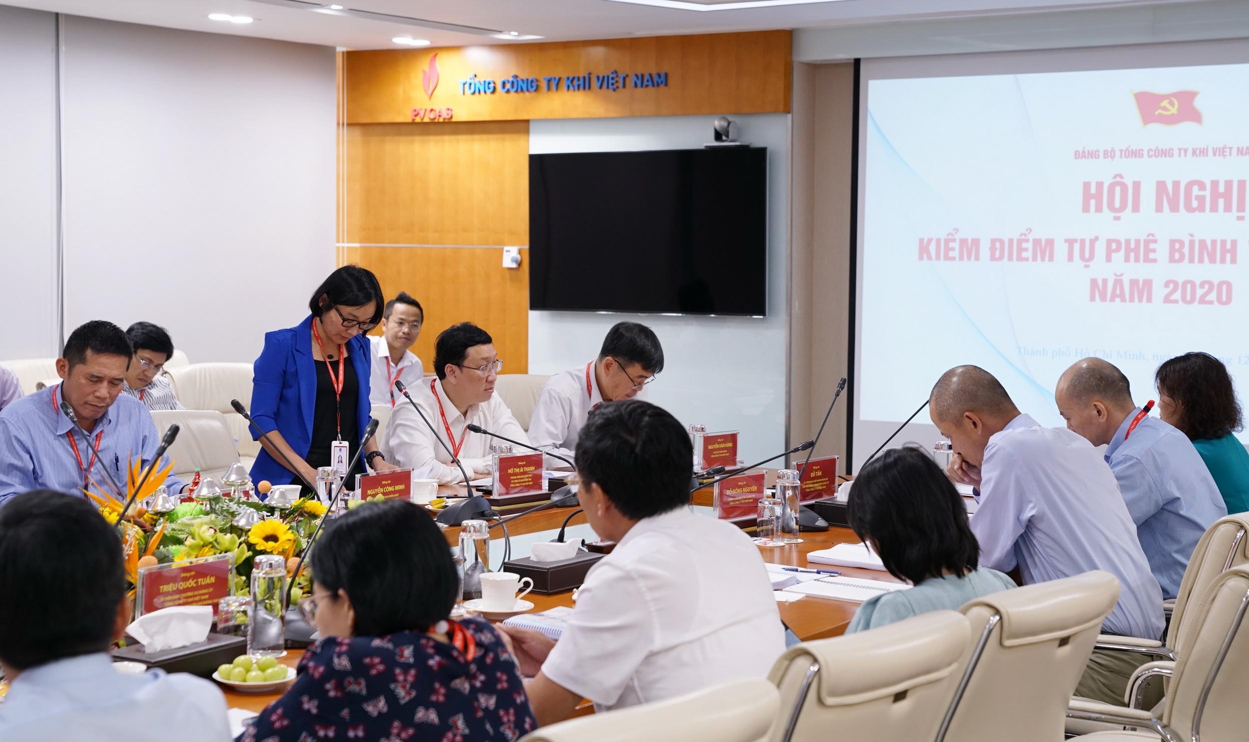 PV GAS tổ chức Hội nghị kiểm điểm, tự phê bình và phê bình theo Nghị quyết Đảng