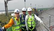 Tổng giám đốc Petrovietnam Lê Mạnh Hùng kiểm tra tiến độ triển khai Dự án kho chứa LNG Thị Vải