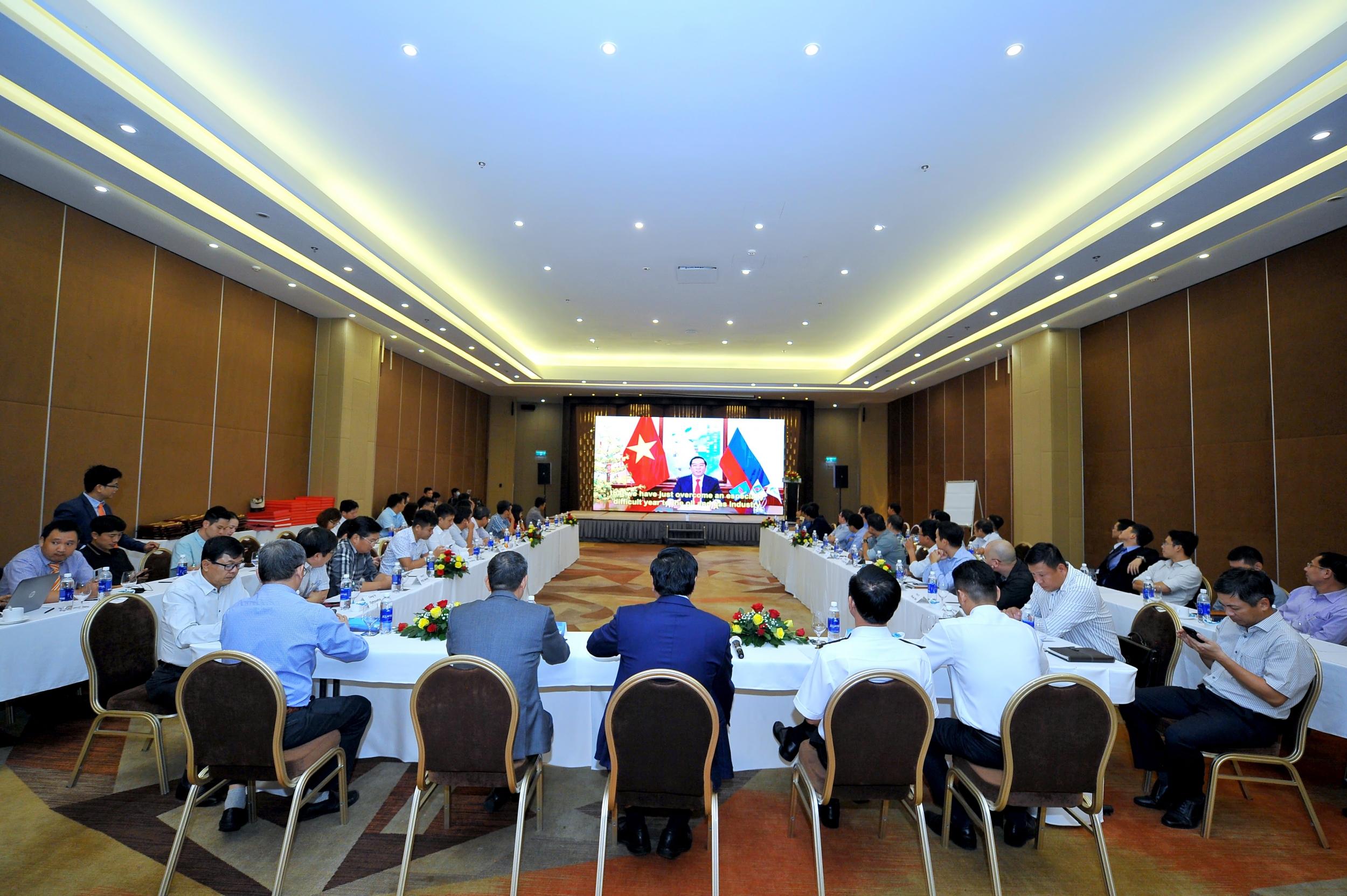 Toàn cảnh Hội nghị tổng kết công tác ATSKMT 2020 của BIENDONG POC