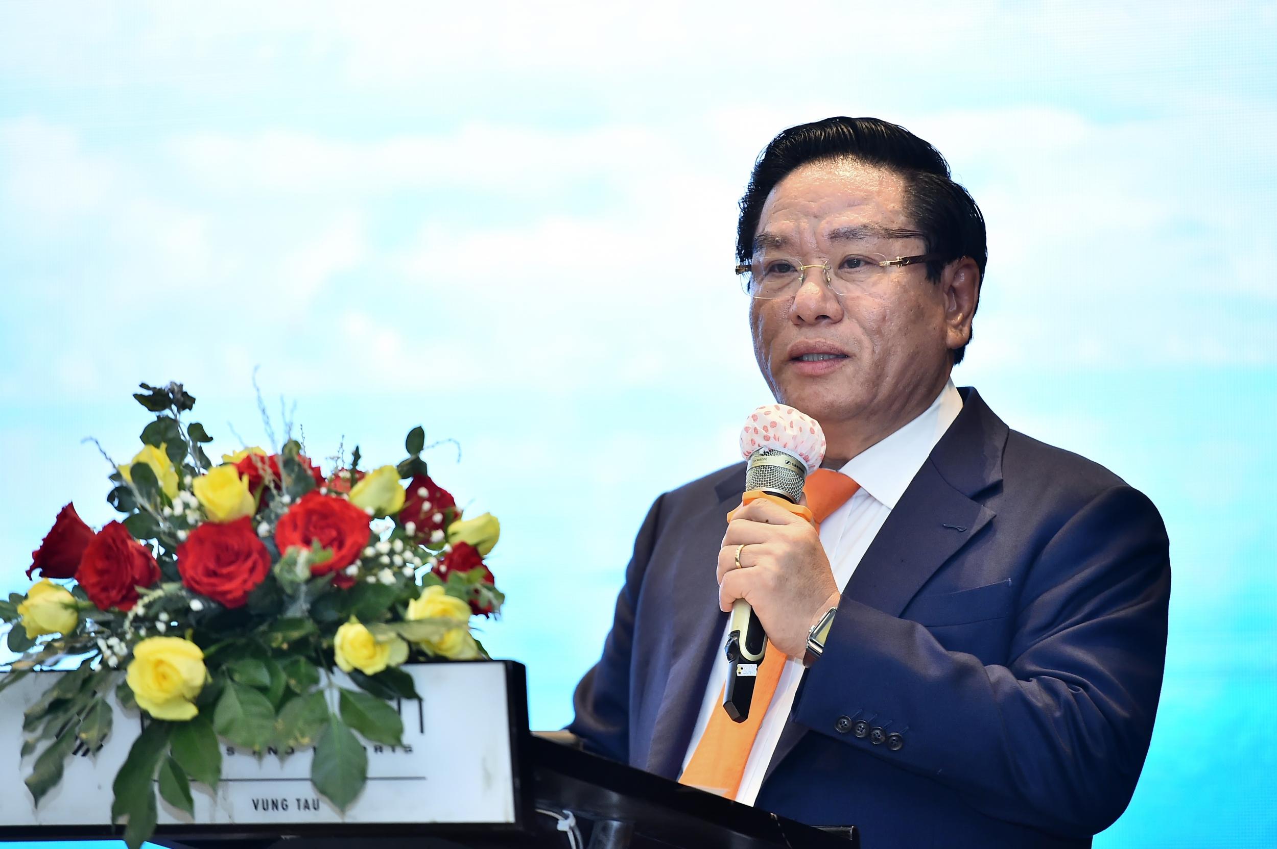 TS. Ngô Hữu Hải - Tổng Giám đốc BIENDONG POC phát biểu bế mạc Hội nghị
