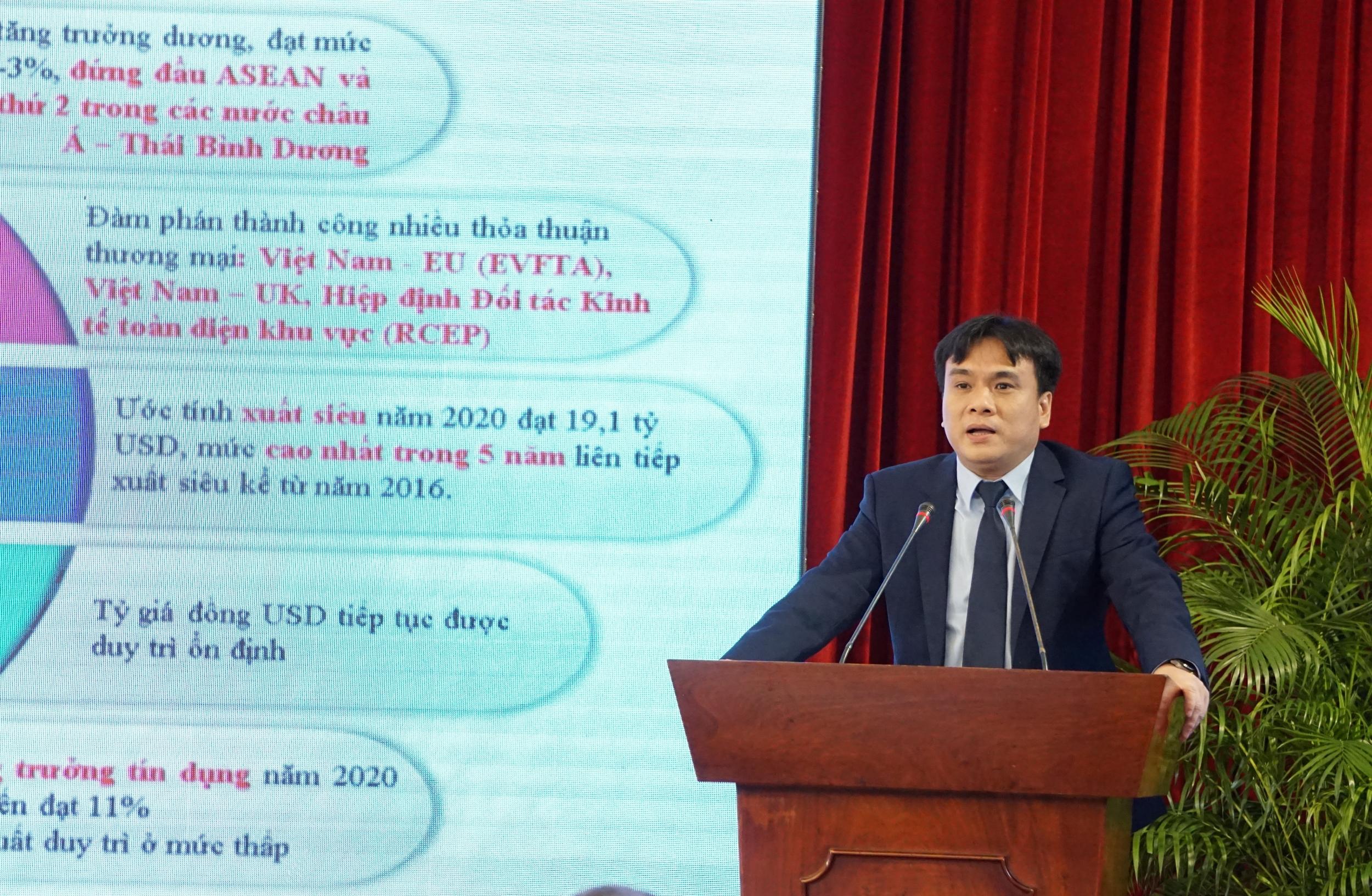 Tổng giám đốc PV Drilling báo cáo kết quả hoạt động SXKD năm 2020 và triển khai kế hoạch 2021