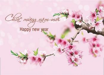 Thư chúc mừng năm mới 2018