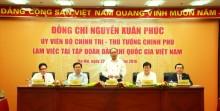 Thủ tướng Nguyễn Xuân Phúc làm việc với Tập đoàn Dầu khí Việt Nam: Phải có các giải pháp quyết liệt, mạnh và đồng bộ