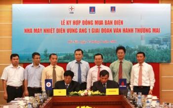 Ký hợp đồng mua bán điện NMNĐ Vũng Áng 1