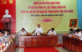 Thủ tướng kết luận về Dự án Khu công nghiệp Dịch vụ Dầu khí Soài Rạp