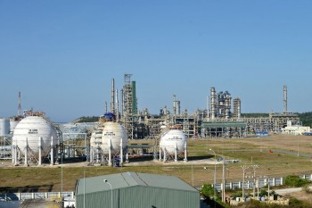 Thu điều tiết sản phẩm xăng của Công ty Lọc hóa dầu Bình Sơn