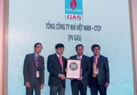 PV Gas nhận danh hiệu 50 công ty niêm yết tốt nhất Việt Nam 2014