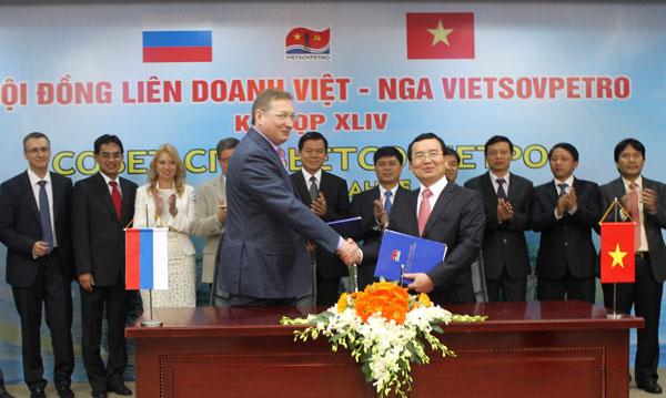 Kỳ họp 44 Hội đồng Liên doanh Việt - Nga Vietsovpetro