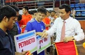 Công đoàn DKVN khai mạc giải bóng đá khu vực TPHCM -  Vũng Tàu