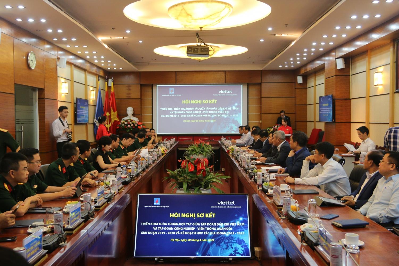 Petrovietnam và Viettel tổ chức hội nghị sơ kết triển khai thỏa thuận hợp tác giai đoạn 2019-2020