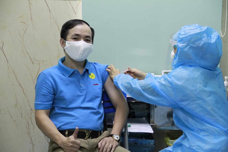 Petrovietnam triển khai tiêm mũi 2 vắc-xin Covid-19 cho cán bộ, người lao động