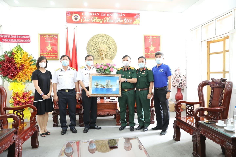 """Nét đẹp """"Văn hóa Người Dầu khí"""" tại Lữ đoàn 125 Hải quân"""